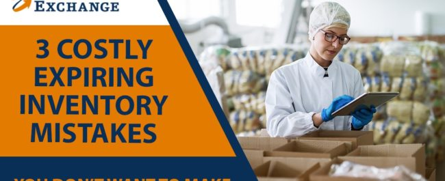 Expiring inventory mistakes